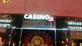 Casino entry to the Grand Canary. View of casino entry to the Grand canary Royalty Free Stock Photography