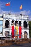 Casino Espanol in Iquique, Chili stock afbeeldingen
