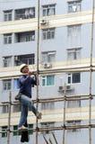 Casino et construction neufs d'hôtels dans Macao Photo libre de droits