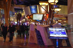 Casino et hôtel de Mohegan Sun à Uncasville, le Connecticut Photos libres de droits