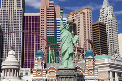 Casino et hôtel de New York à Las Vegas, Nevada Image libre de droits
