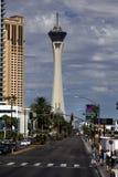 Casino et hôtel de stratosphère à Las Vegas, Nevada Image libre de droits
