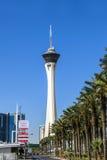 Casino et hôtel de stratosphère Photos libres de droits