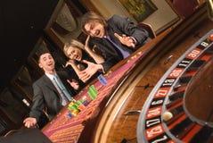 Casino et jeunesse Images libres de droits