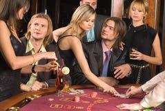 Casino et jeunesse Photo libre de droits