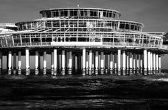 Casino et restaurant à Scheveningen Image stock