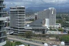 Casino exterior em Broadbeach imagem de stock