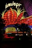 Casino famoso del flamenco - Las Vegas foto de archivo libre de regalías