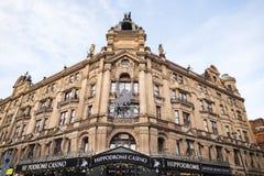 Casino famoso del hipódromo de Londres Londres Imágenes de archivo libres de regalías