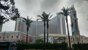 Casino famoso Veneza em Macau foto de stock