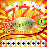 Casino gambling. Royalty Free Stock Image