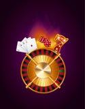 Casino gambling concept Stock Image