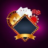 Casino gambling concept Royalty Free Stock Photos