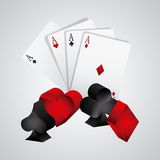 Casino gambling concept Royalty Free Stock Photography