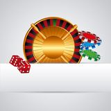 Casino gambling concept Royalty Free Stock Photo