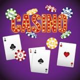 Casino gambling game Stock Photo