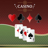Casino gambling. Royalty Free Stock Images