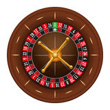 Casino gambling roulette wheel Royalty Free Stock Image