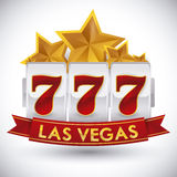 Casino game design. Royalty Free Stock Photo