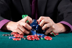 Casino game failure Stock Image