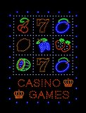 Casino games Royalty Free Stock Photos