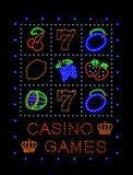 Casino Games Royalty Free Stock Photos