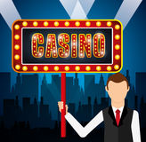 Casino games design Stock Photo