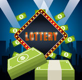 Casino games design. Illustration eps10 graphic Stock Images