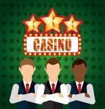 Casino games design Stock Photos