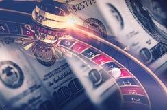 Casino Games Roulette Concept Stock Photos
