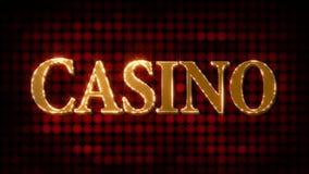 Casino Glittering (HD Loop) stock video footage