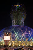 Casino Grand Lisboa in Macau Royalty Free Stock Photo