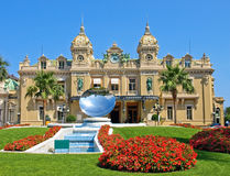Casino grande de Monaco Foto de Stock