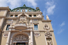 Casino grande em Monte - Carlo Fotografia de Stock Royalty Free