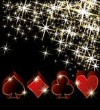 Casino greeting card Stock Photos