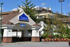 Casino-hôtel de Saratoga dans Saratoga Springs, New York Photos libres de droits