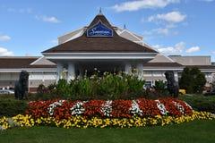Casino-hôtel de Saratoga dans Saratoga Springs, New York Images stock