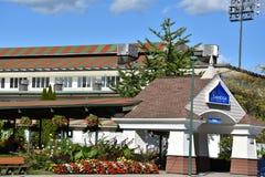 Casino-hôtel de Saratoga dans Saratoga Springs, New York Images libres de droits