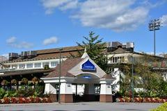 Casino-hôtel de Saratoga dans Saratoga Springs, New York Photos stock