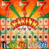 Casino het gokken Stock Foto's