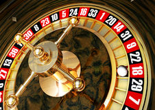 Casino. High resolution 3D rendering of roulette Royalty Free Stock Images