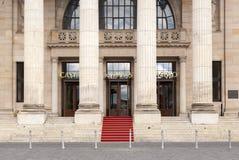 Casino historique célèbre à Wiesbaden, Allemagne Images stock
