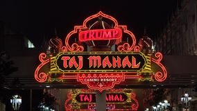 Casino Hotel, Gambling, Atlantic City, Las Vegas Royalty Free Stock Photos
