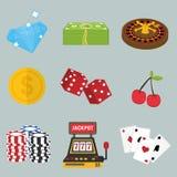 Casino icon design Stock Image
