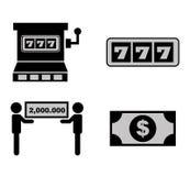 Casino icon Stock Images