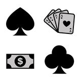 Casino icon Royalty Free Stock Photography