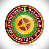 Casino icon desin Royalty Free Stock Images