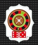 Casino icons design Stock Photo