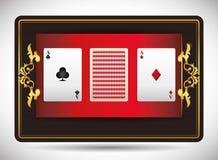 Casino icons design Stock Photography