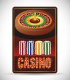 Casino icons design Stock Image